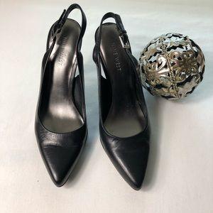 NINE WEST shoes black size 7 M